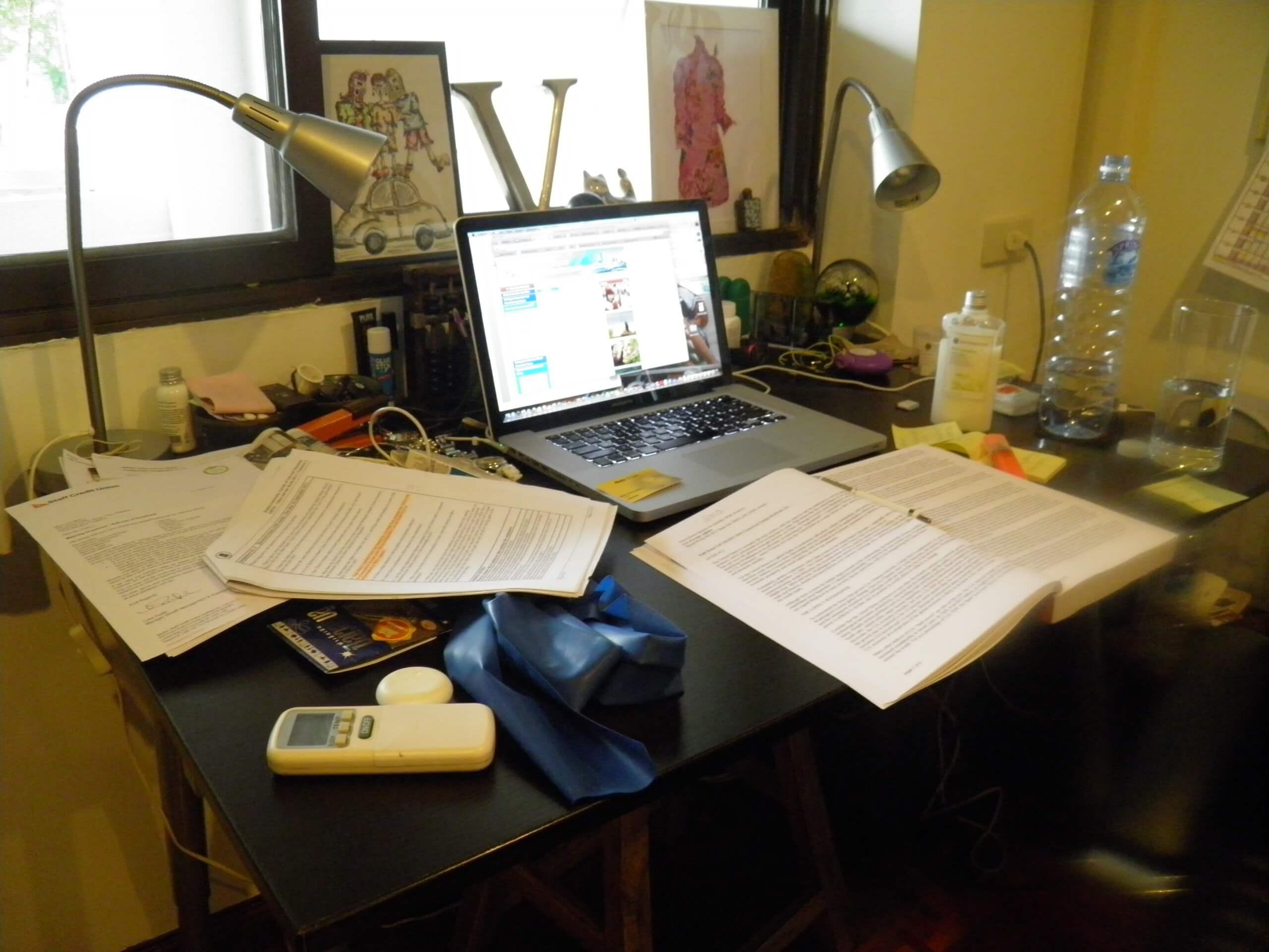 Image D Un Bureau De Travail ▷ 2 façons ingénieuses d'optimiser son bureau à domicile