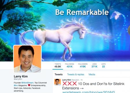 Larry Kim Twitter