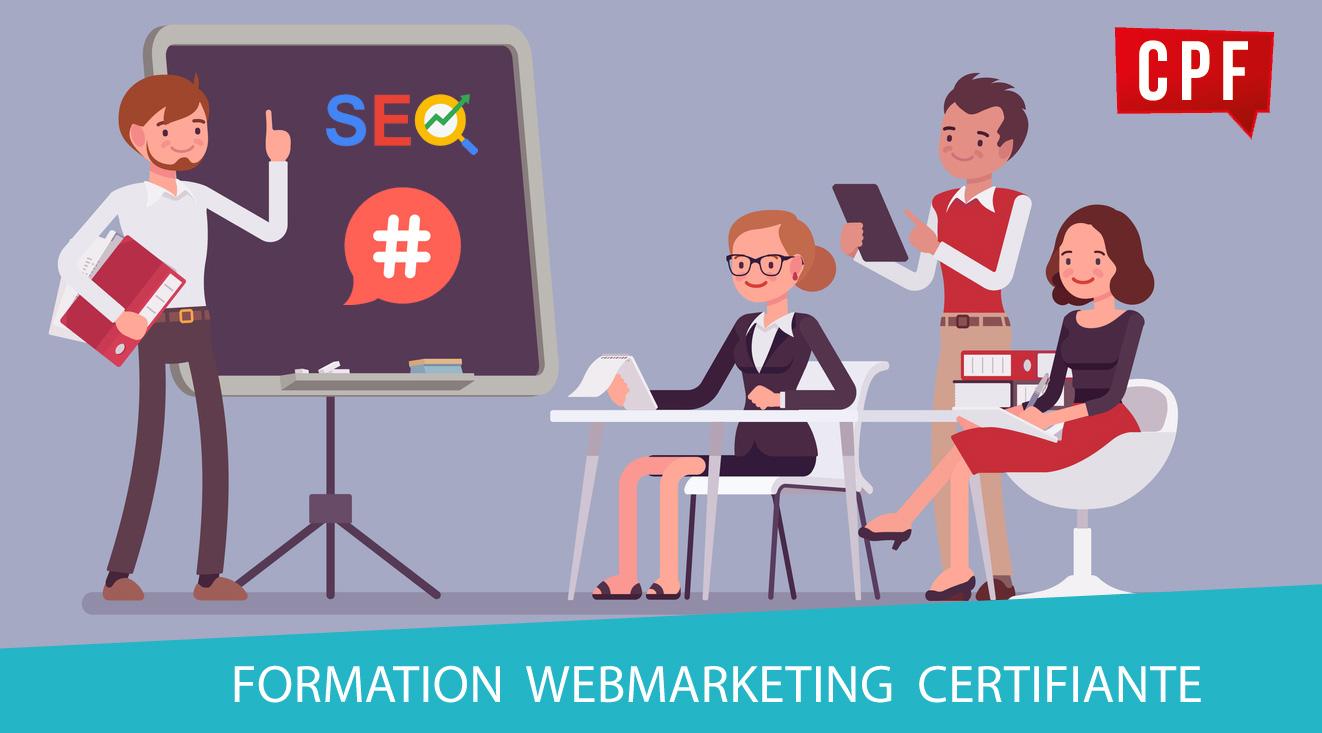 une semaine pour se former au webmarketing  formation