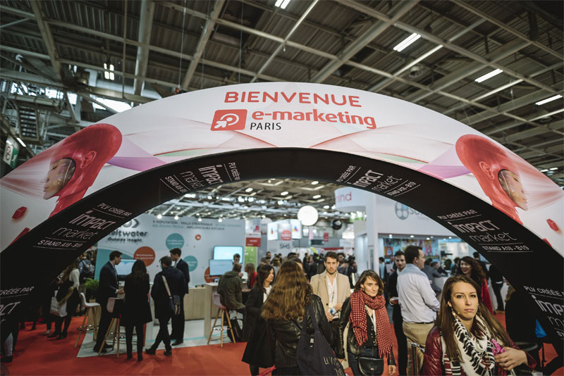 Ouverture du salon E-marketing 2019 ! Entrée gratuite ! #EMKT2019