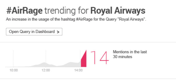 trend hashtag airrage