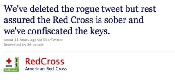 tweet croix rouge