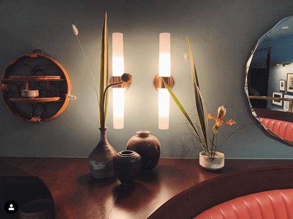 jeu de lumière pour restaurants