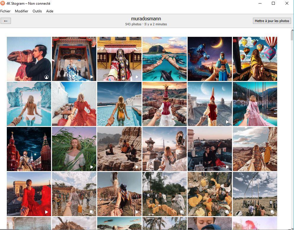 telecharger photos instagram ordinateur