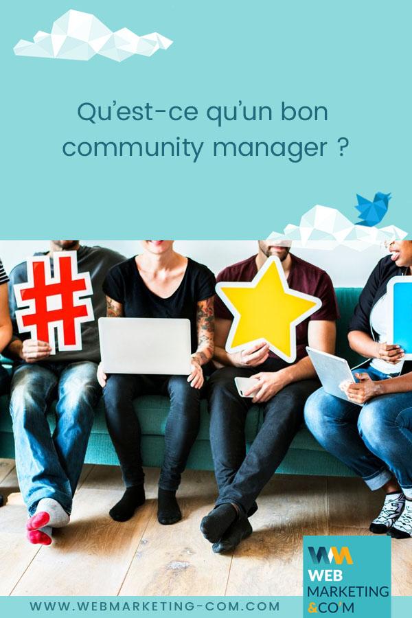 Qu'est-ce qu'un bon community manager? via @webmarketingcom