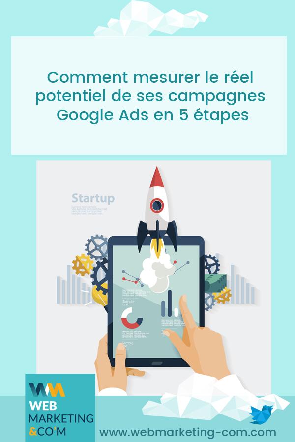Comment mesurer le réel potentiel de ses campagnes Google Ads en 5 étapes via @webmarketingcom