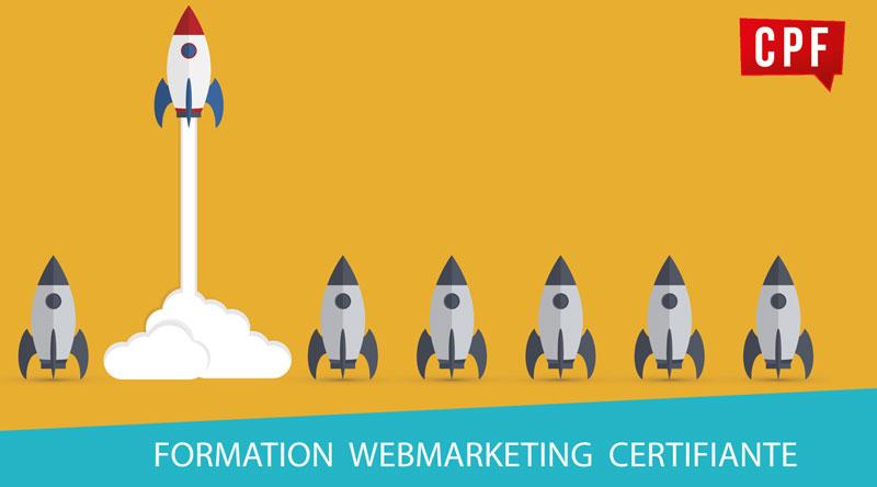C'est la rentrée, formez-vous au webmarketing ! Formation certifiante éligible CPF