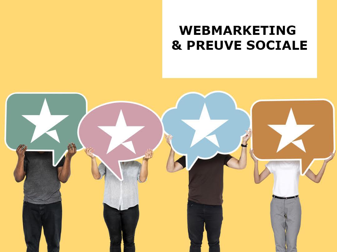 Webinar webmarketing : comment augmenter CTR et conversion grâce à la preuve sociale ?