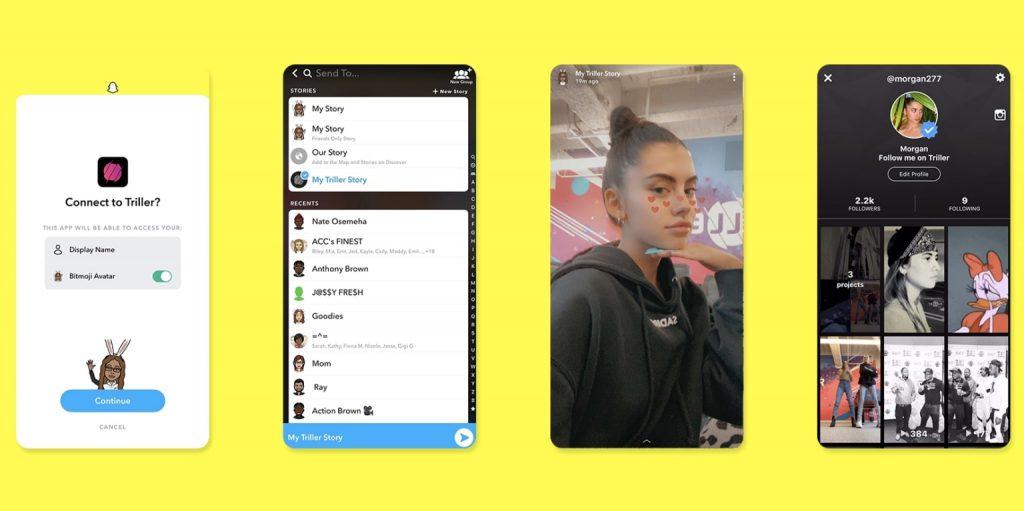 """Snapchat lance """"App Stories"""", sa nouvelle fonctionnalité de partage"""