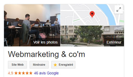 Avis Google et e-réputation