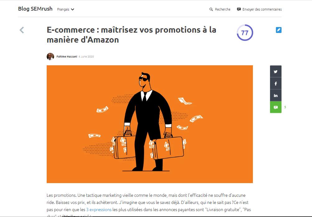 E-commerce: marketing promotionnel