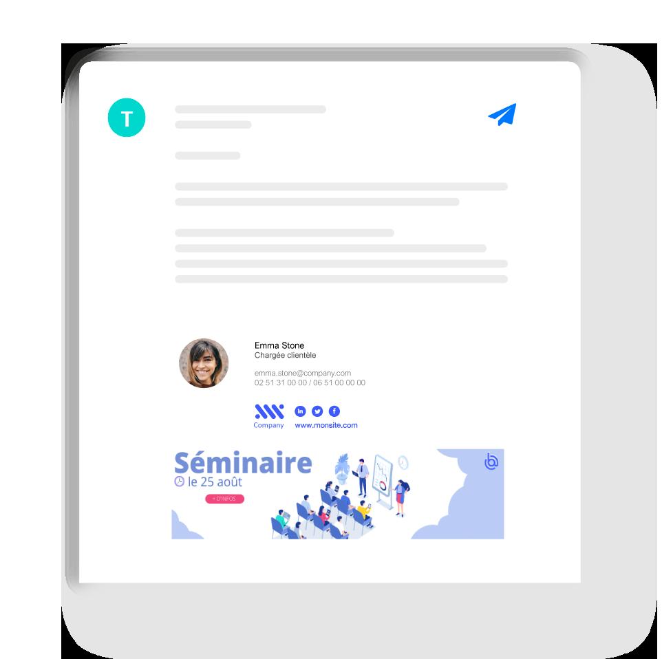 Signature mail interne