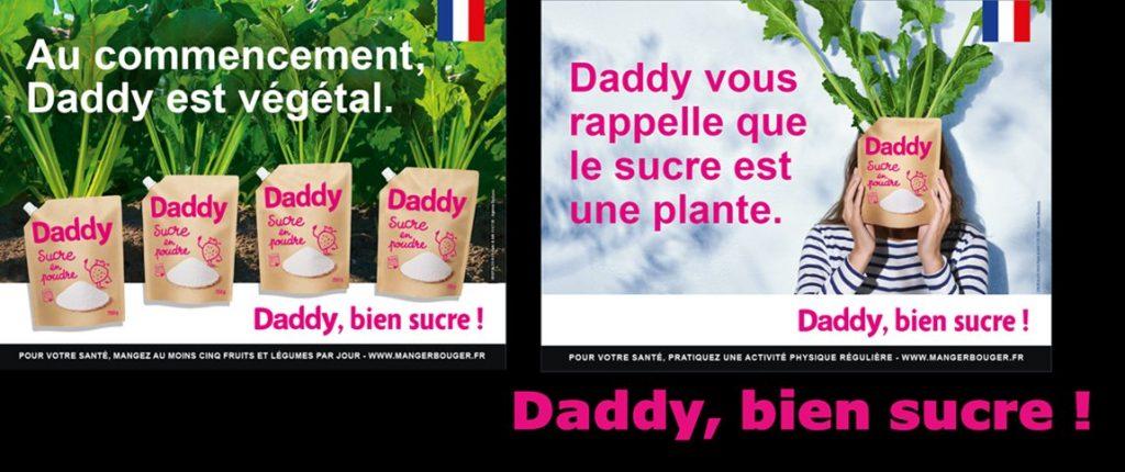 Campagne de publicité Daddy.