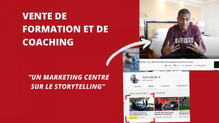 Comment utiliser le storytelling pour vendre une formation ?