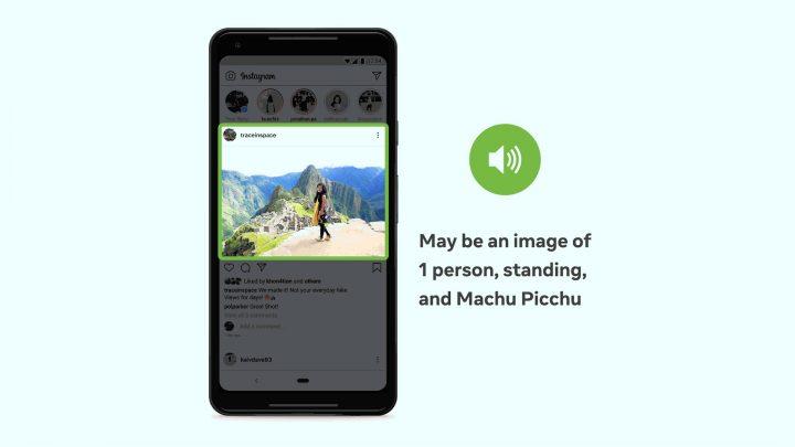 Facebook met à jour le texte alternatif automatique pour les malvoyants