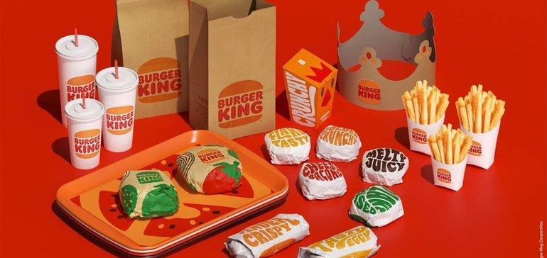 Design 2021 : nouvelle identité visuelle axée sur le digital chez Burger King