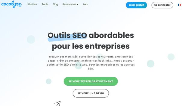 Cocolyze, la solution qui pense le SEO pour ses utilisateurs