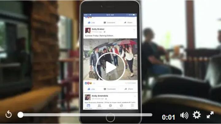 Facebook lance une nouvelle option pour monétiser les vidéos courtes