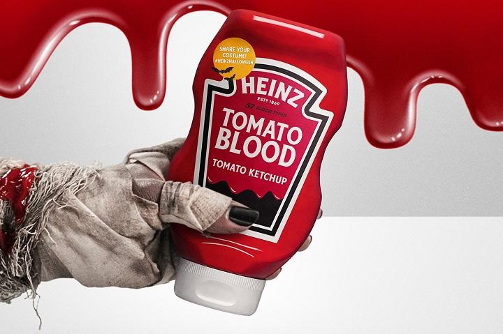 HEINZ lance une campagne sanglante pour fêter Halloween 2021